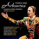 Artaxerxes by Thomas Arne